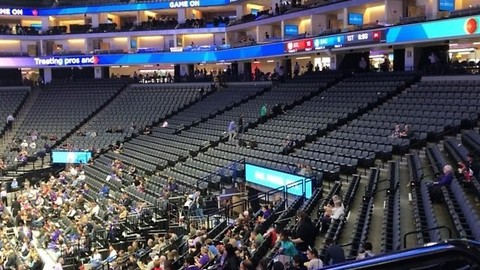 Sparse Crowd for Kings Game as Stephon Clark Protesters Gather at  Golden 1 Center