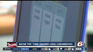 Wayne Township third graders get new Chromebooks - Video
