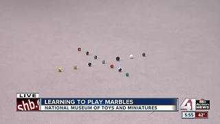 Learning to play marbles - Video