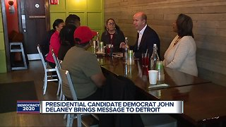 US Rep. from Maryland visits Detroit for presidential campaign sit down with small businesses