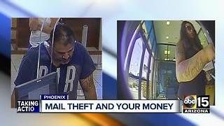Thieves targeting mail around Phoenix