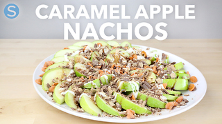 How to make amazing caramel apple nachos - Video