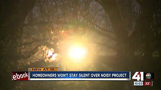 Noisy KCMO road project brings complaints from neighbors