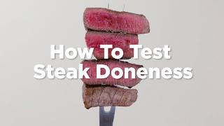 How To Test Steak Doneness - Video