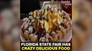 The Florida State Fair has crazy delicious food | Taste and See Tampa Bay