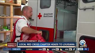 Local Red Cross chapter deploying to Louisiana - Video