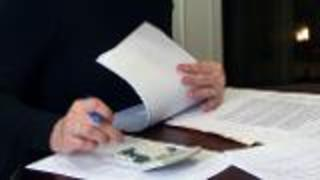 Financial End of Year Review - Changes in Income - Video