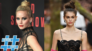 Kaia Gerber And Jennifer Lawrence Prove Messy Is TRENDY | Trending Topics