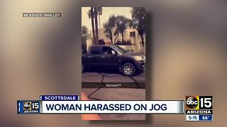 Woman harassed on jog in Scottsdale