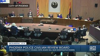 Phoenix council approves civilian oversight for police department