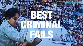 Dumbest Criminals Caught on Camera - Video