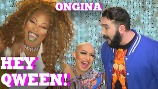 RuPaul's Drag Race Star ONGINA on HEY QWEEN with Jonny McGovern PROMO - Video