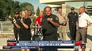 Kern County Office of Emergency Services Press Conference