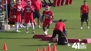 KC Chiefs training camp begins in St. Joe - Video