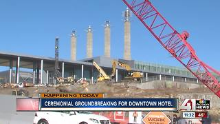 Loews Hotel breaks ground for convention center hotel - Video