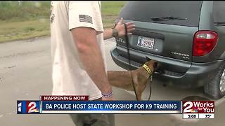 K9 training workshop in Broken Arrow - Video
