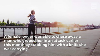 Jogger Fights Off Attacker - Video