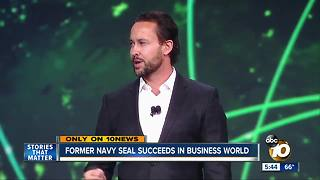 Former Navy Seal succeeds in business world - Video