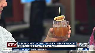 Searsucker stirring up drinks and giving back to charity