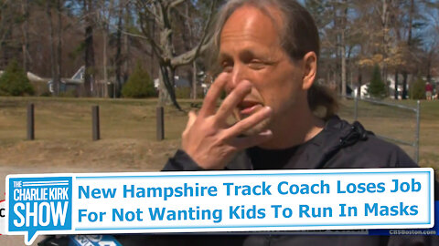 New Hampshire Track Coach Loses Job For Not Wanting Kids To Run In Masks