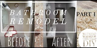 Bathroom Remodel Part 1