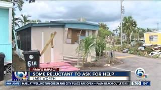 Donations gathered to help residents at Holiday Mobile Home Park