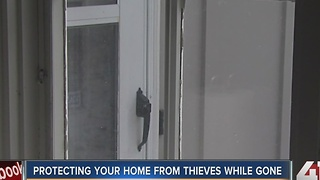 How to protect your home when you're out of town - Video