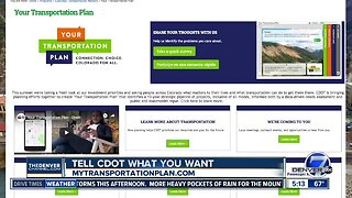 CDOT asking for your input on 10 year plan