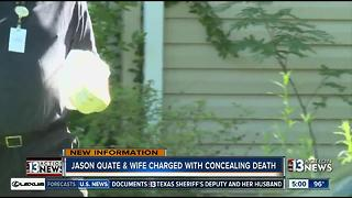 UPDATE: Both Jason Quate and wife are being charged with concealing daughter's death - Video
