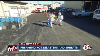 Indiana Department of Homeland Security is constantly preparing for disasters and threats - Video