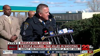 CHP provides update on Greyhound bus shooting