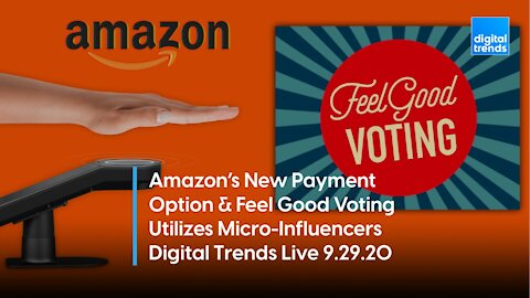 Amazon Palm Reader Won't Tell Your Fortune; SpaceX Crew-1 Mission | Digital Trends Live 9.29.20