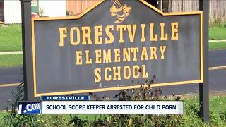 School score-keeper arrested for child porn - Video