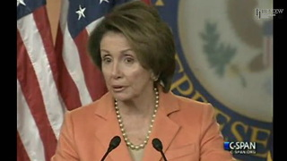 Nancy Pelosi Insists Affordable Care Act Working - Video