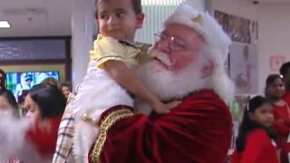 St. Mary's holds holiday party for some patients - Video