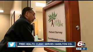 Free health clinic treats patients in Carmel - Video