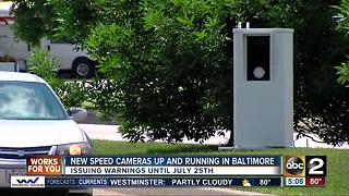 Baltimore drivers mixed on new speed camera program