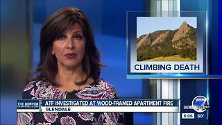 2 dead in separate climbing accidents near Boulder, Aspen - Video