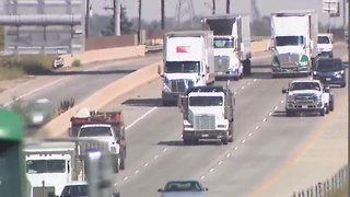 Speeding Semi-trucks - Video