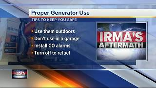 Generator Safety Tips