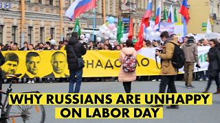 Russian humor at anti-Putin protest on historic May Day - Video