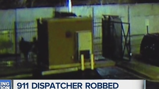 911 Dispatcher robbed outside Detroit police headquarters - Video