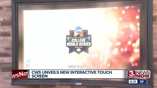 CWS unveils new interactive touch screen
