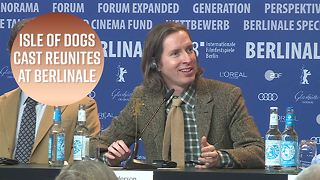 Wes Anderson opens up about Isle of Dogs for first time - Video
