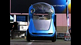 GM Electric Concept Car - Video