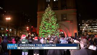 Holiday season kicks off with downtown Christmas tree lighting - Video