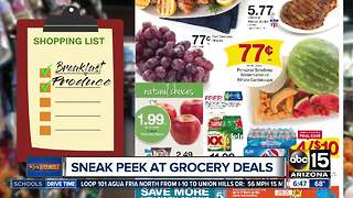Best deals at Valley grocery stores this week - Video