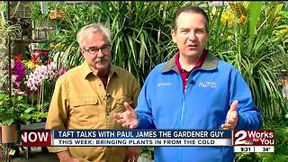 Taft talks with Paul James The Gardener Guy