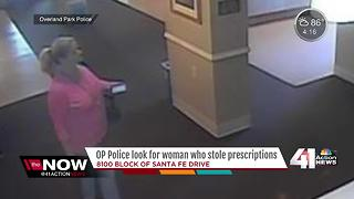 OP police search for woman who allegedly stole medication - Video