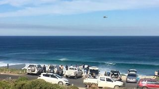Shark Attack Victim Airlifted From Western Australia Beach - Video